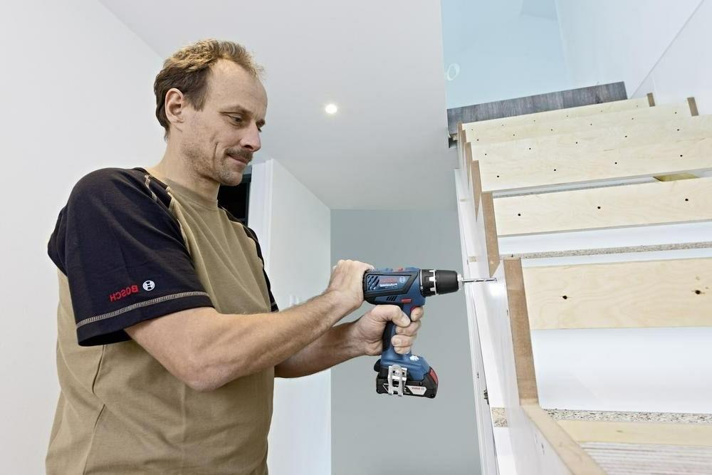 Bosch Drill GSR 18V Battery Voltage Capacity