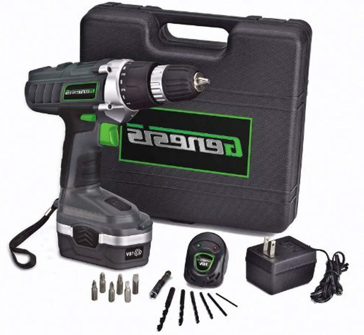 cordless drill driver kit 18v case 13