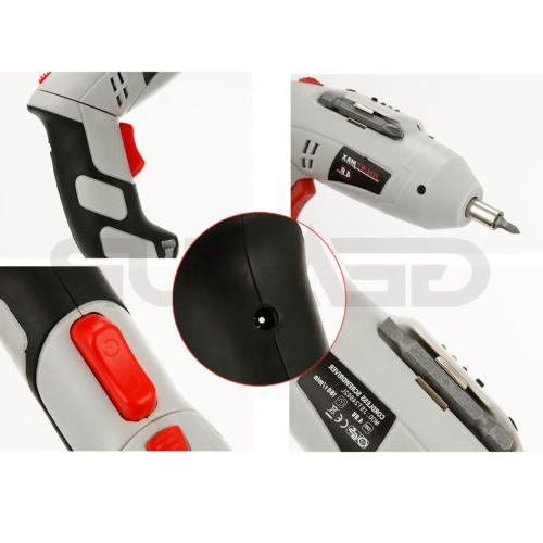 Cordless Drill Rechargeable Screw Repair Tools US