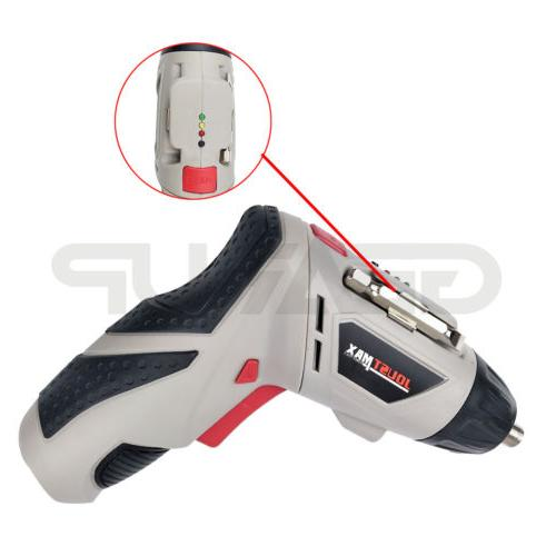 Cordless Drill Rechargeable Electric Repair Tools Set US