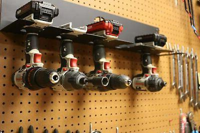 Cordless Driver Organizer Hanging Mount Cordless Tool Storage