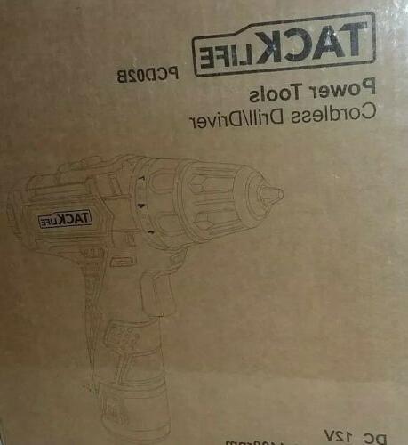 cordless drill driver pcd02b dc 12v new