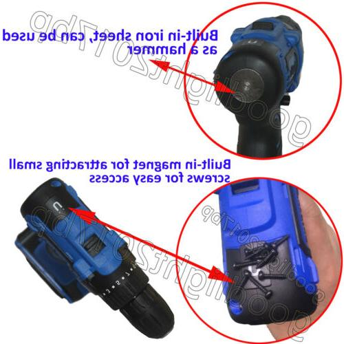 Cordless Drill Driver Electric Tools