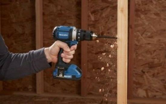 Hercules Cordless Drill Driver with Battery and Bit