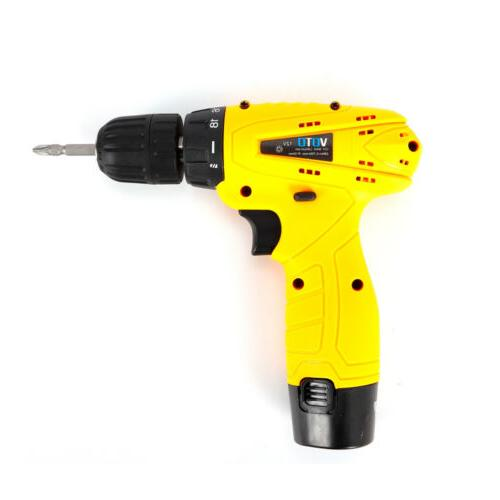 Cordless 12V Electric Screwdriver Waterproof