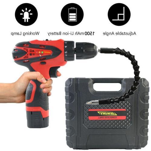 Cordless Drill Kit 16.8V Battery & Charger Home Tools Kits