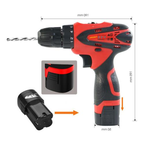 Cordless Set 16.8V with Battery & Tools