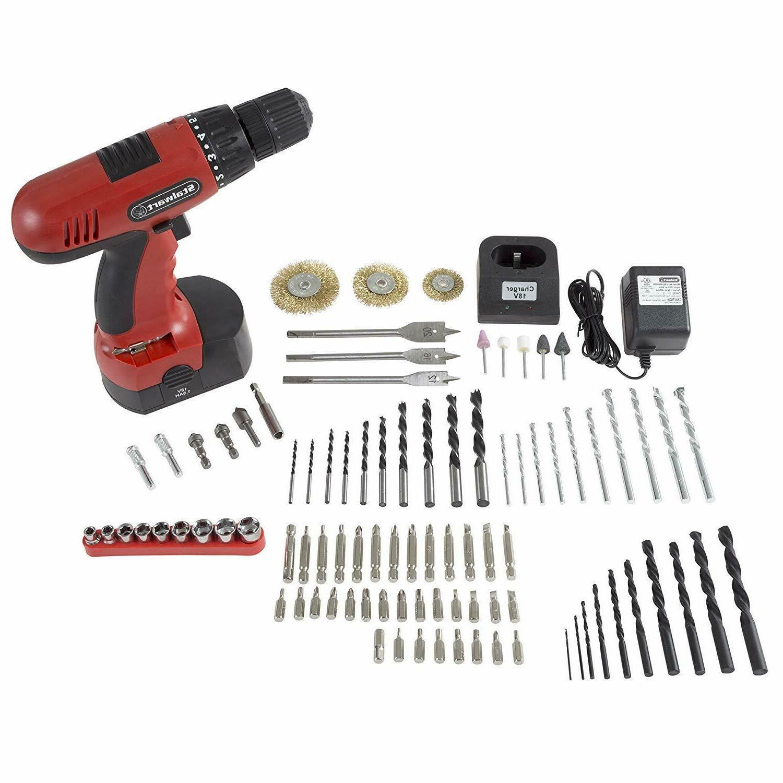 Stalwart Drill 89 Piece Kit, - No rpm.