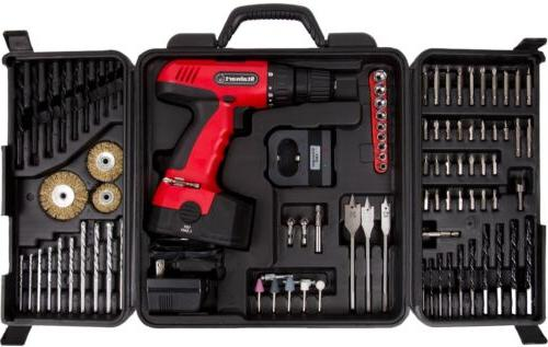 Cordless Set With And Case Tools
