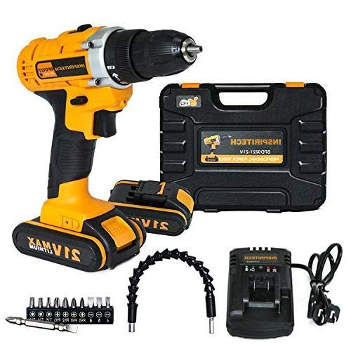 cordless electric drill screwdriver 21v