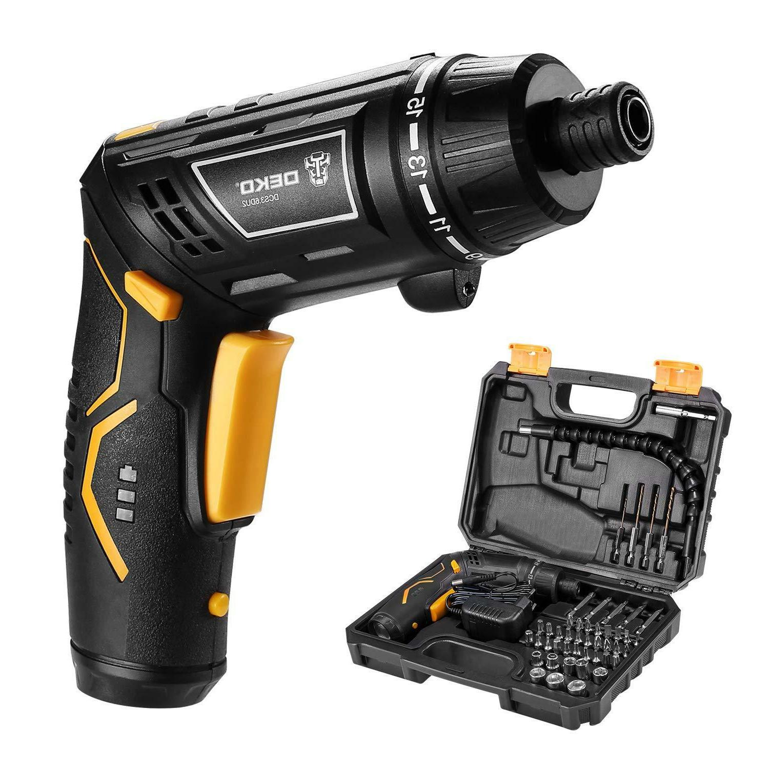 electric cordless screwdriver household battery drill driver
