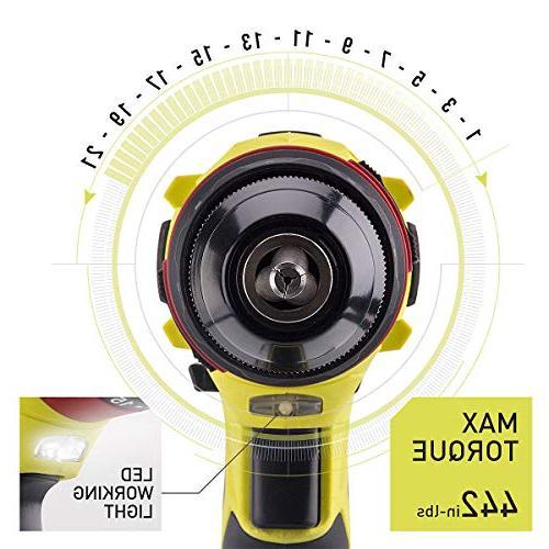 """CACOOP 20V Hammer set, Included 1)20V 2.0Ah Li-Ion 1) charger, 12) bits, screwdriver & 1)2"""" Magnetic Holder"""