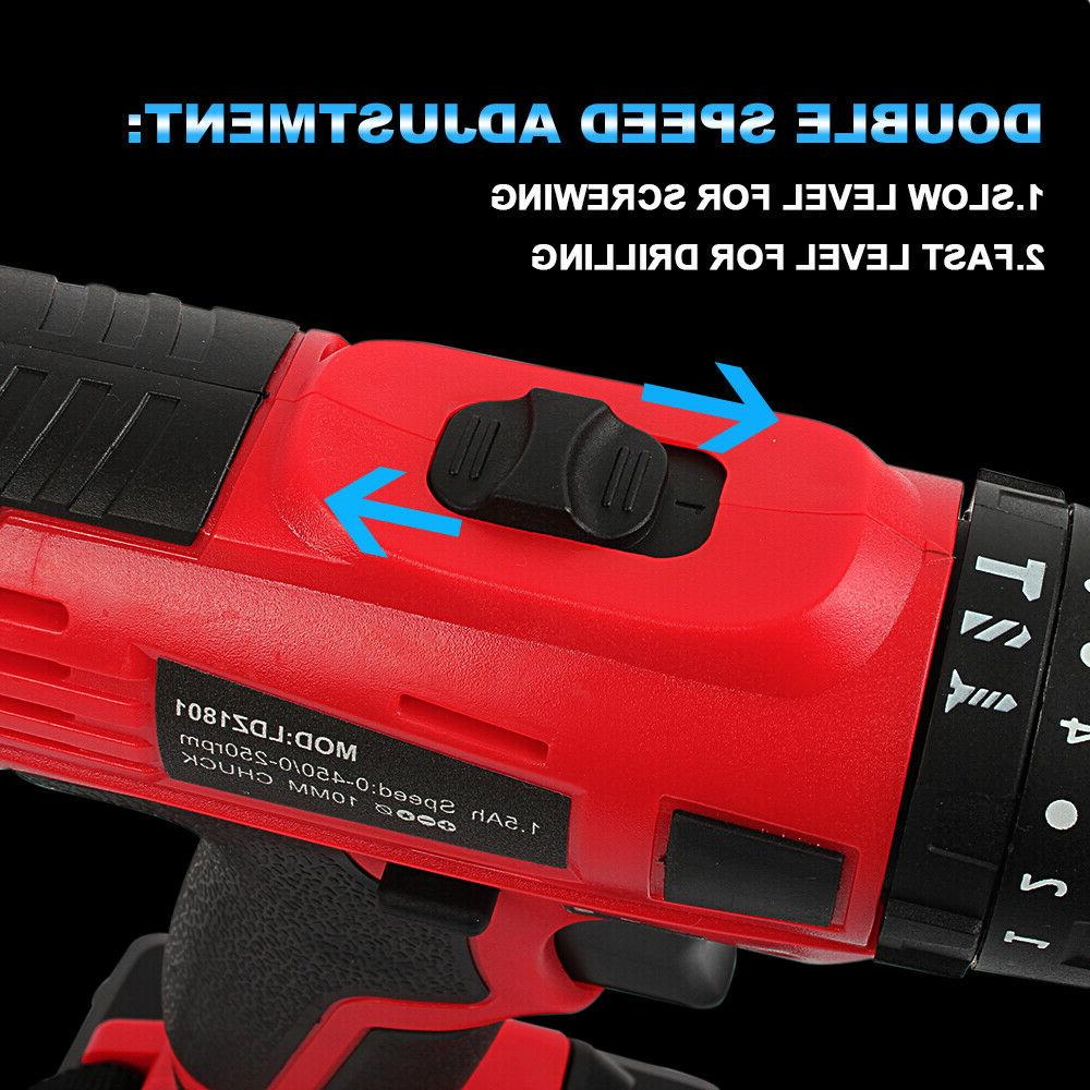 Cordless Impact Hammer Screwdriver electric tool