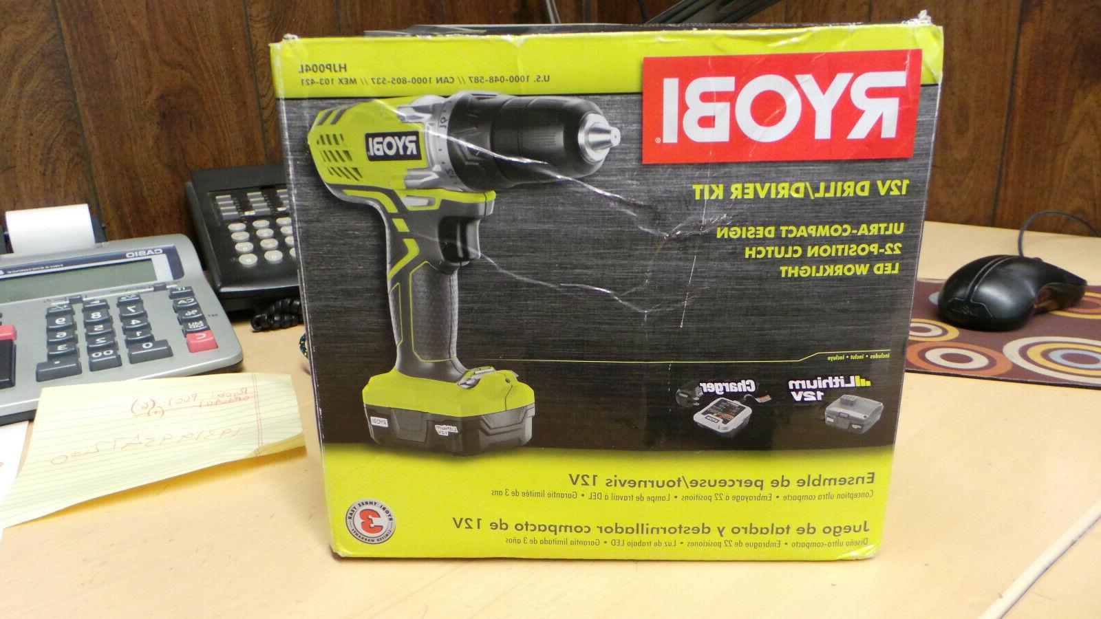 cordless lithium ion drill driver