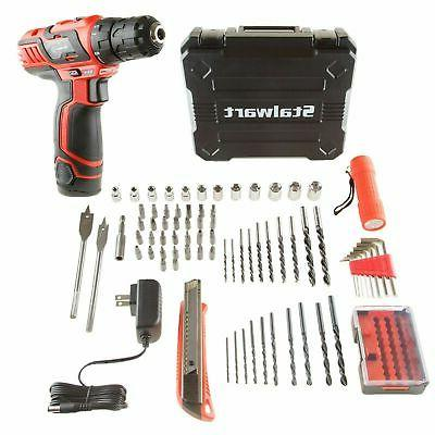 cordless rechargeable drill set