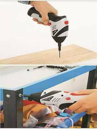 Cordless Screwdriver Joust Max Portable Handle Feature Rotation