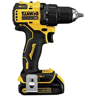 DeWALT DCD708C2 MAX 1/2 Brushless Drill Driver New