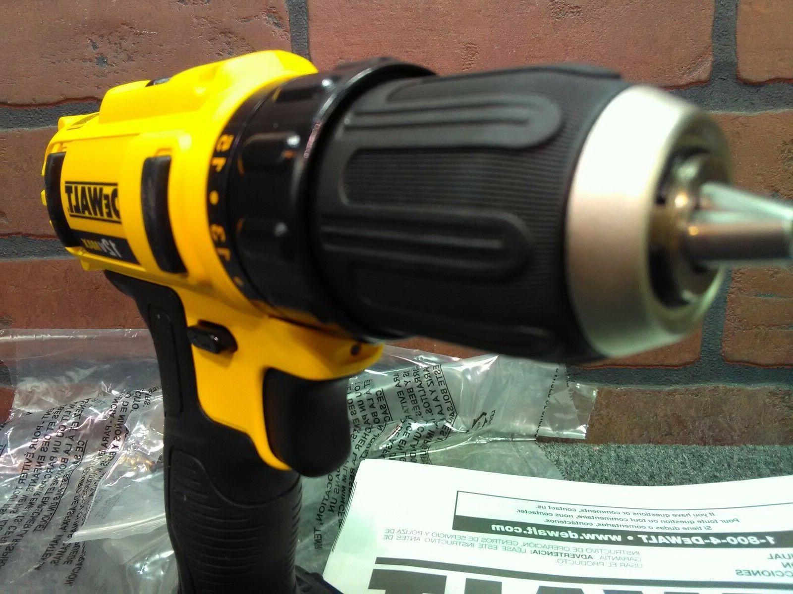 Dewalt 12V Cordless Drill Driver