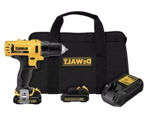 DEWALT DCD710S2 12-Volt 3/8-Inch Drill