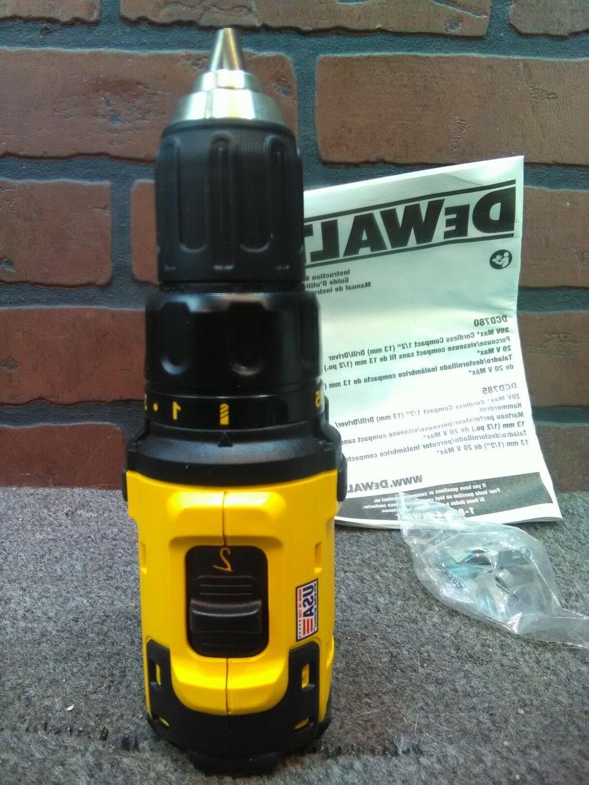 """Dewalt DCD780B 1/2"""" Drill Clip-***NEW***"""