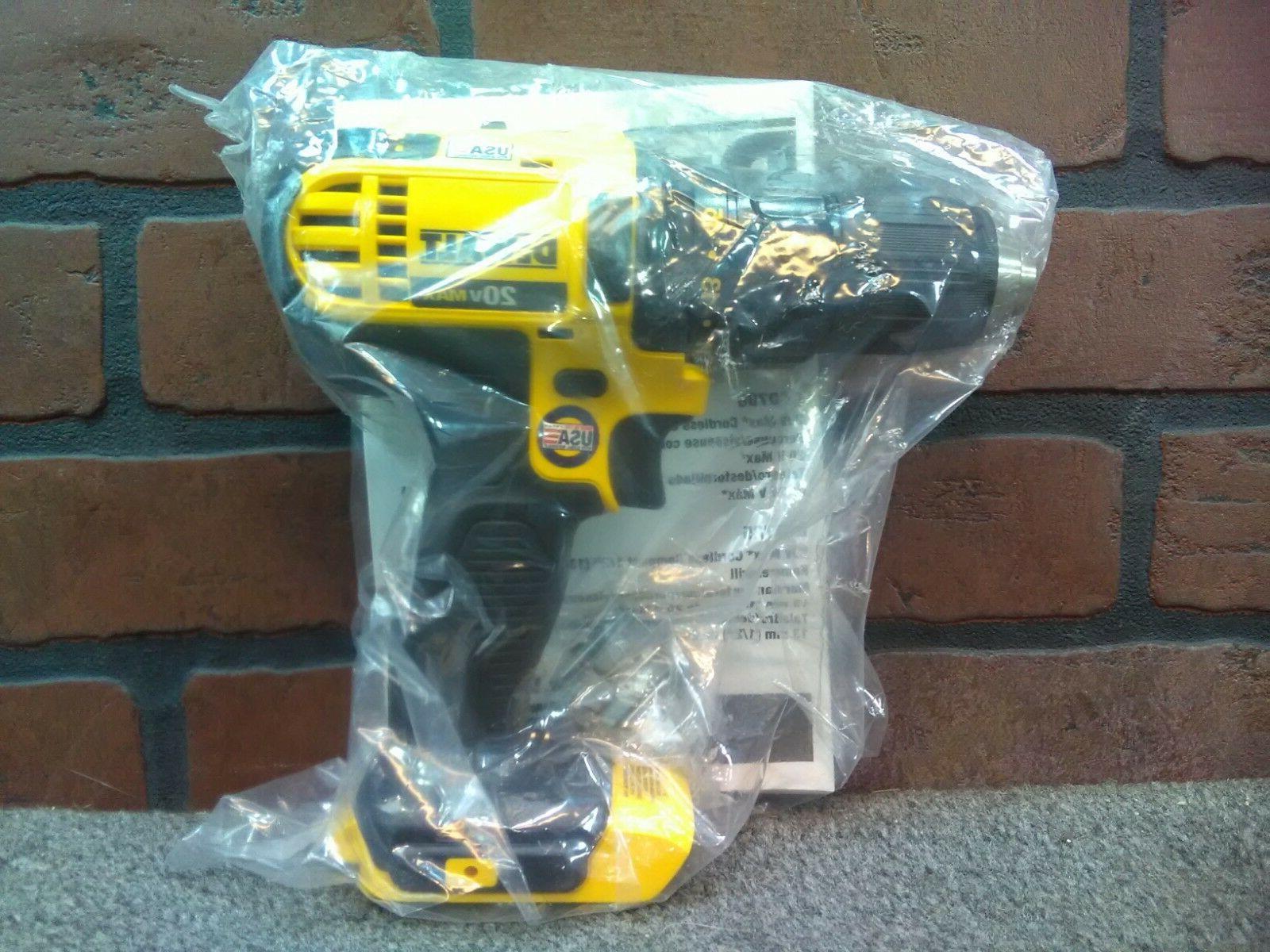 dcd780b 20v max 1 2 drill driver