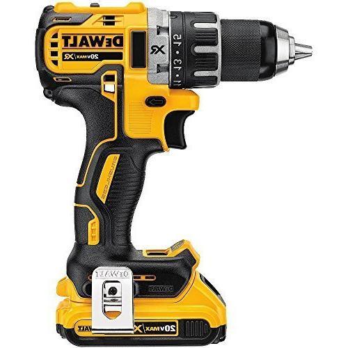 DEWALT 20V MAX XR Brushless Drill/Driver