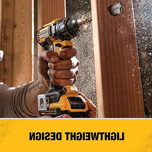 DEWALT MAX XR Li-Ion Brushless Compact Drill/Driver
