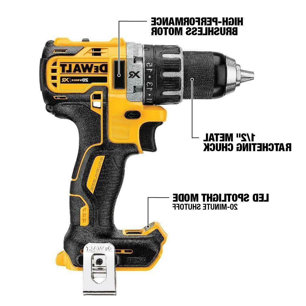 DEWALT XR Li-Ion 2.0Ah Brushless Drill/Driver