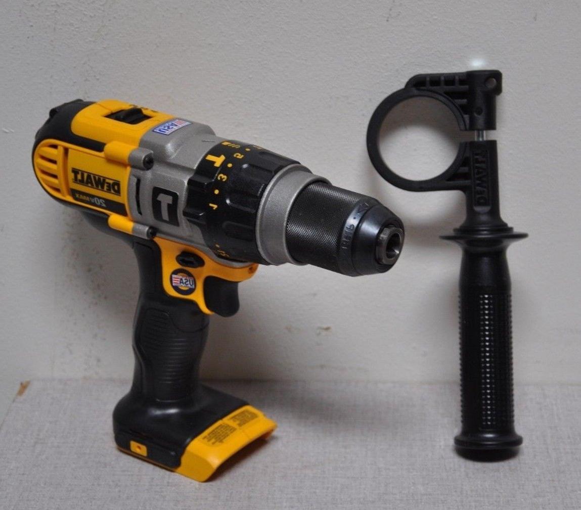 """Dewalt DCD985B 1/2"""" Cordless Hammer Drill 20.0 Voltage Bare"""