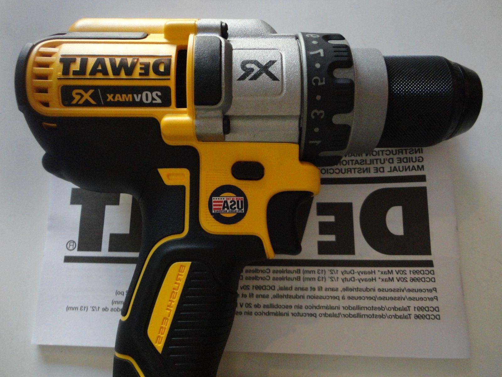 "DEWALT 20V Volt 1/2"" Drill Driver DCD991"