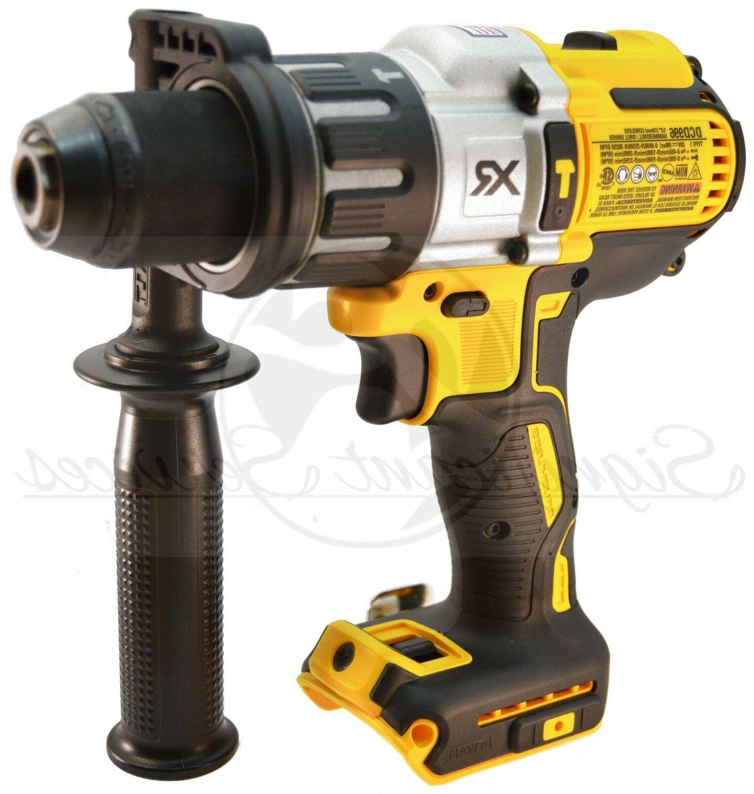 DeWALT 20V MAX XR 3-Speed 1/2 Drill