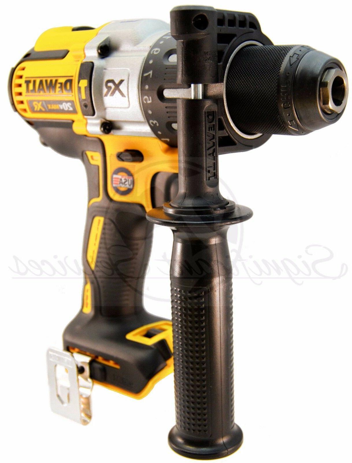 DeWALT DCD996 MAX XR Cordless Li-Ion Brushless 3-Speed 1/2 Drill
