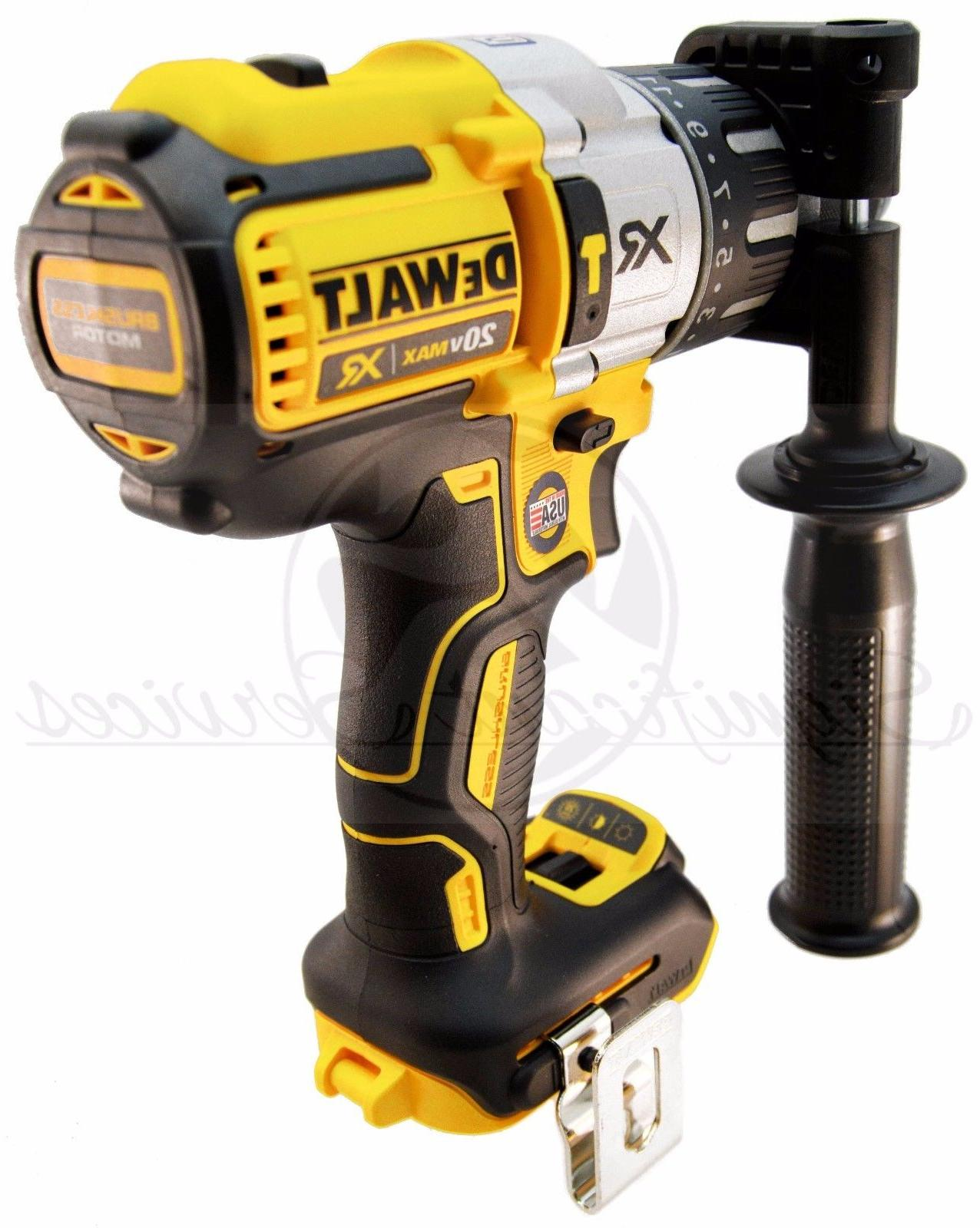 DeWALT 20V MAX XR Li-Ion 3-Speed Drill