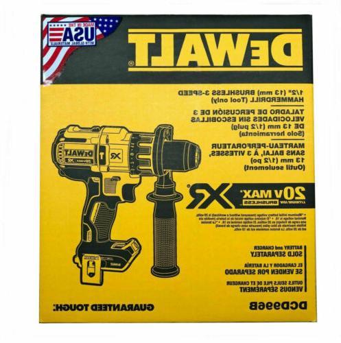 dcd996 brushless hammer drill