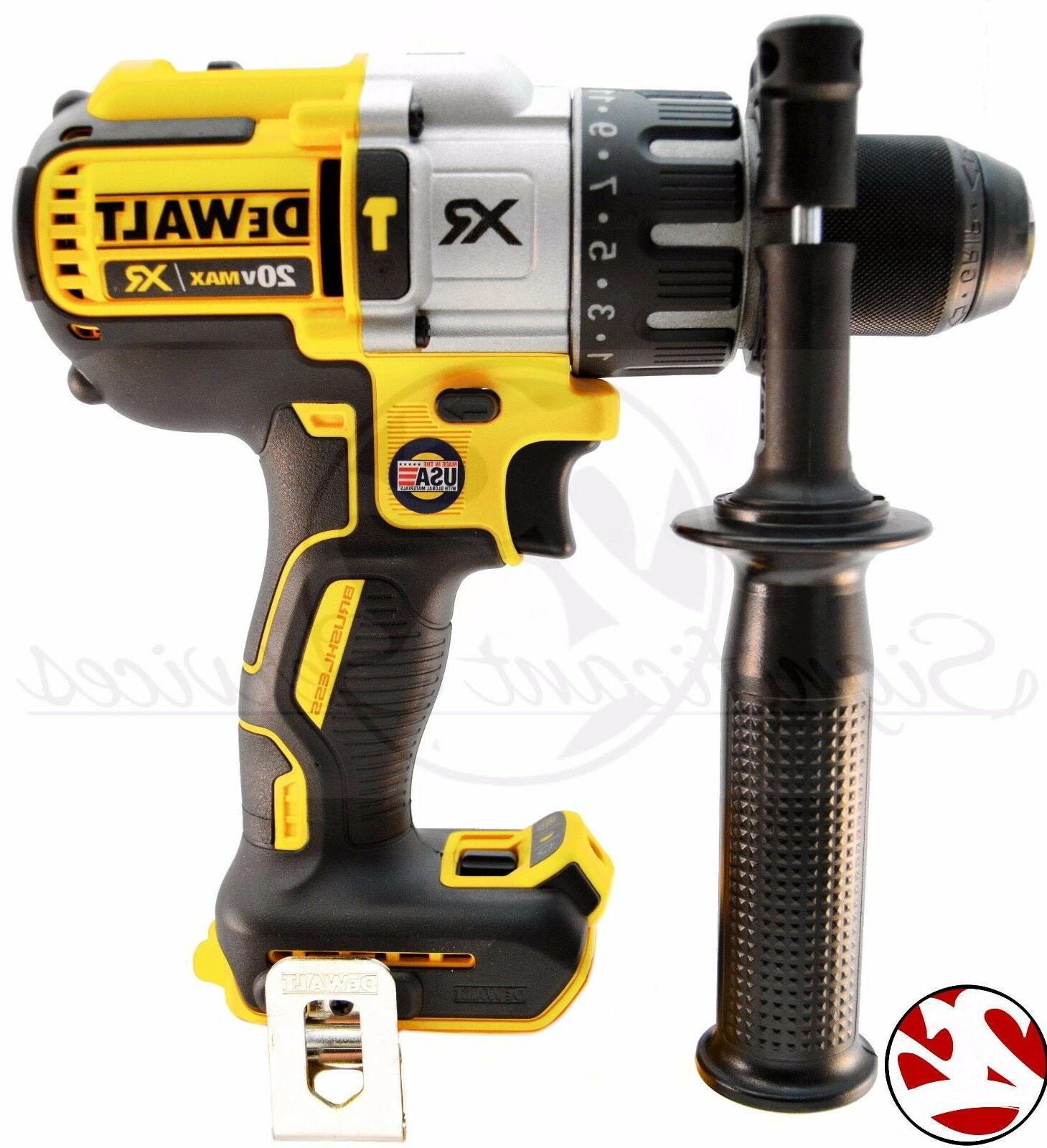 dcd996 max xr brushless hammer