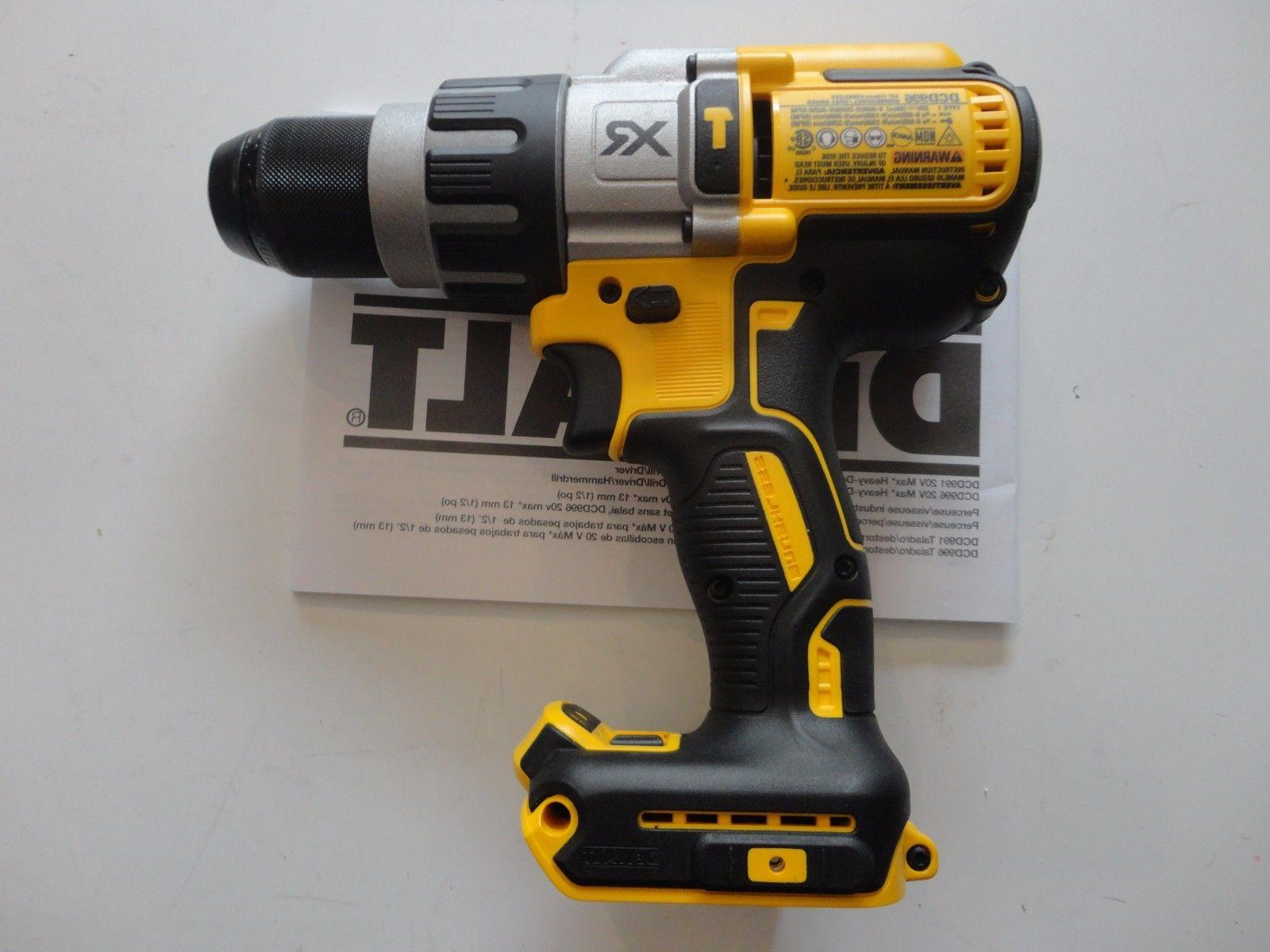 "DEWALT DCD996B Volt Lithium Ion Brushless 1/2"" New DCD995B"