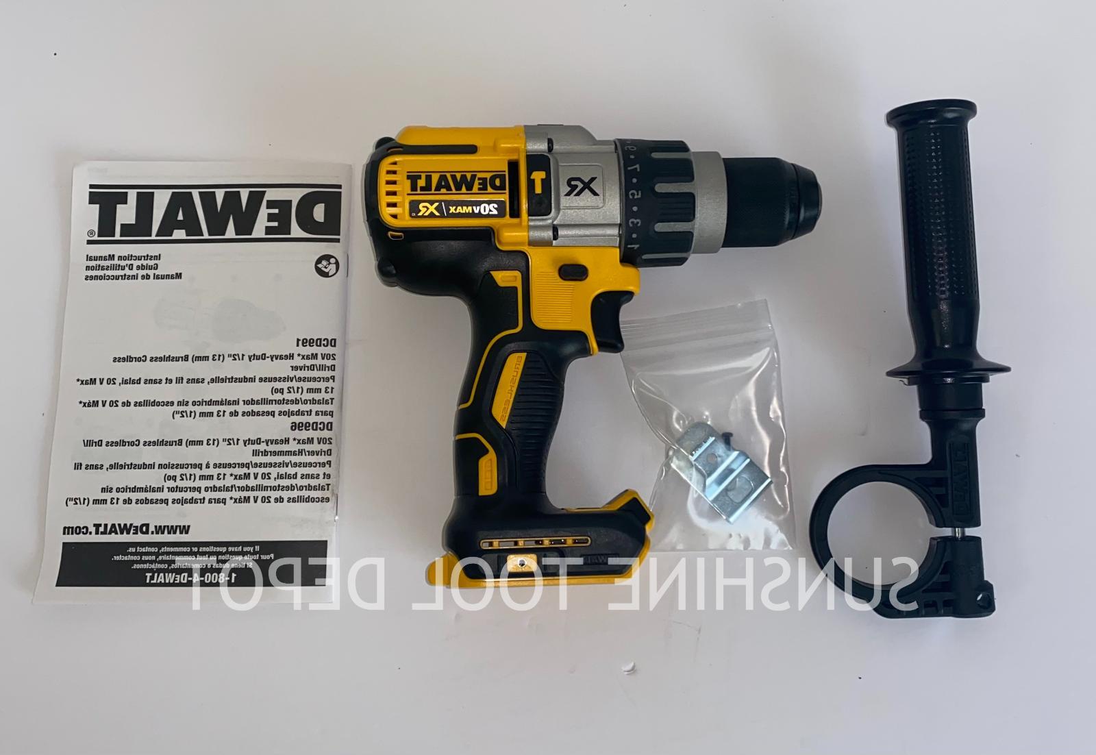 DeWalt DCD996B 20V Max XR Hammer Drill