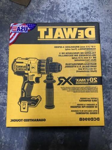 "DEWALT DCD996B XR 20V 1/2"" Hammer"