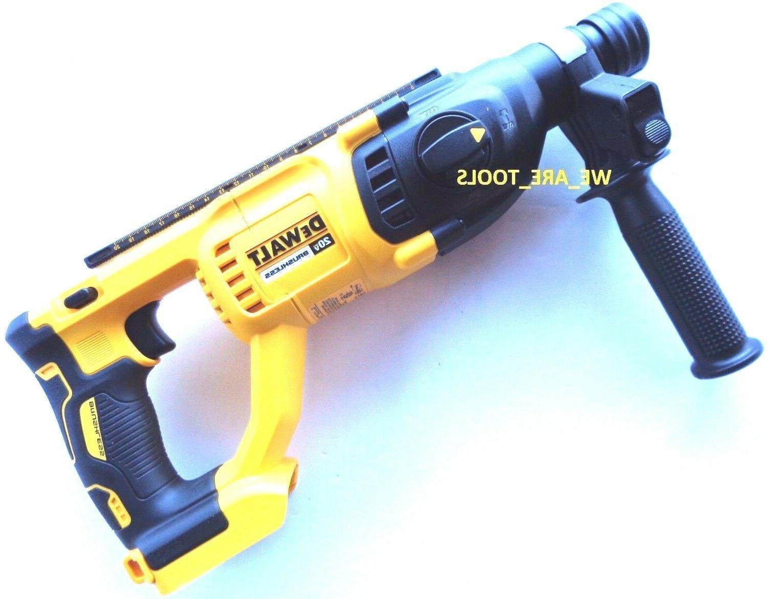 New Dewalt SDS Hammer Drill, DCB205 Battery 20 Volt