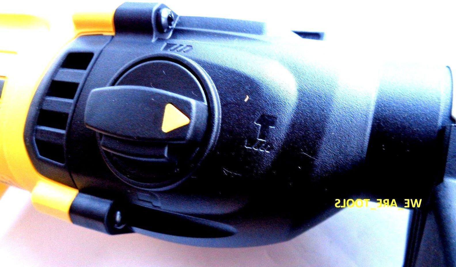 "New DCH133 SDS 1"" Hammer Drill, DCB205 20"