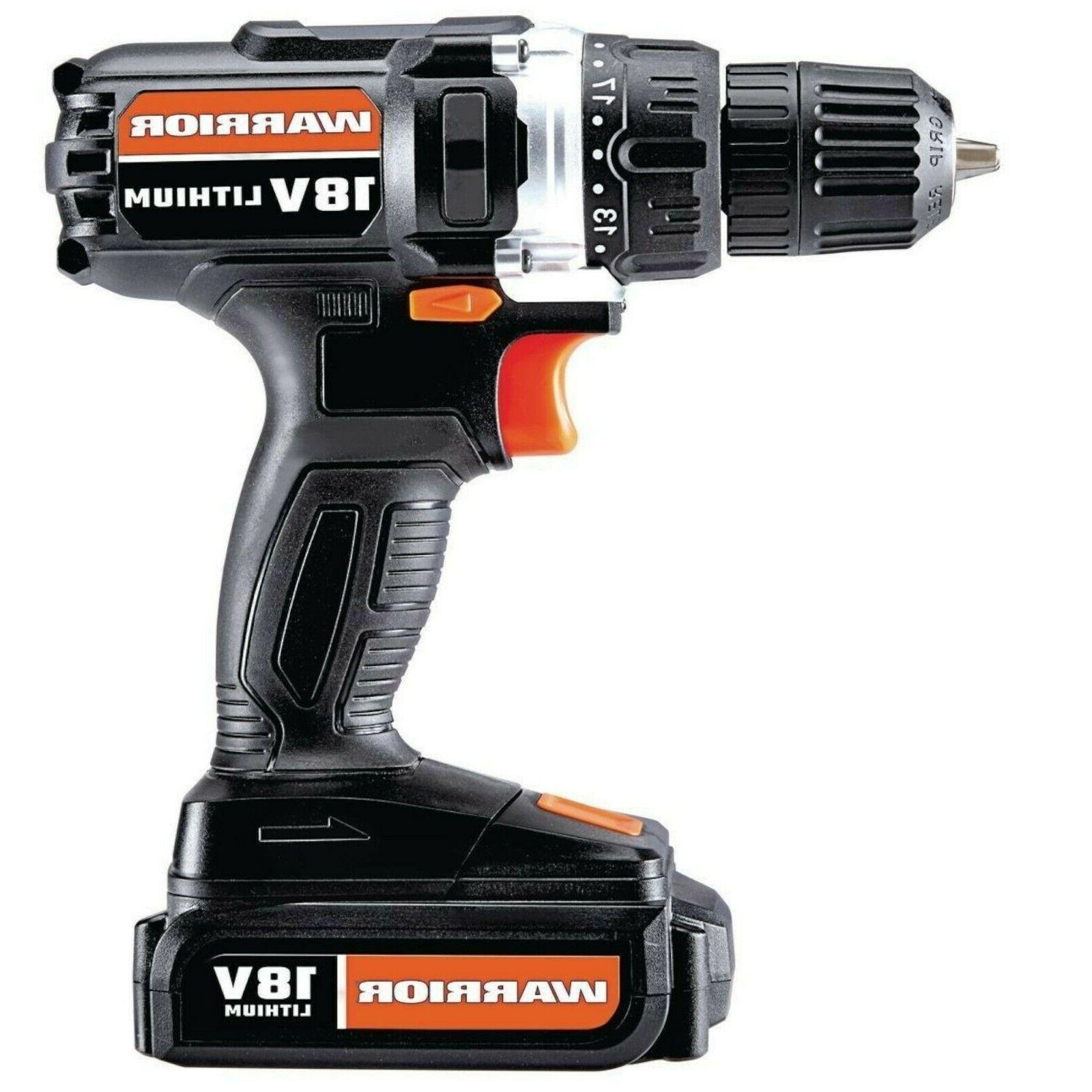 Drill Cordless Lithium 3/8 in 18V charger