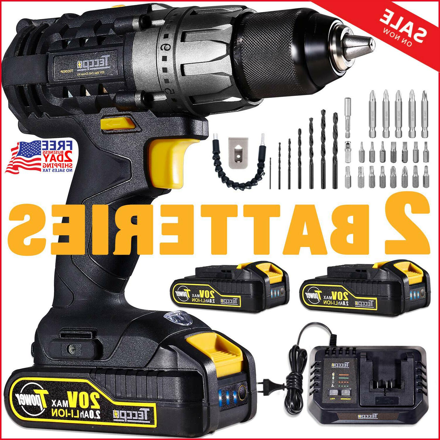 drill driver 20v cordless with charger