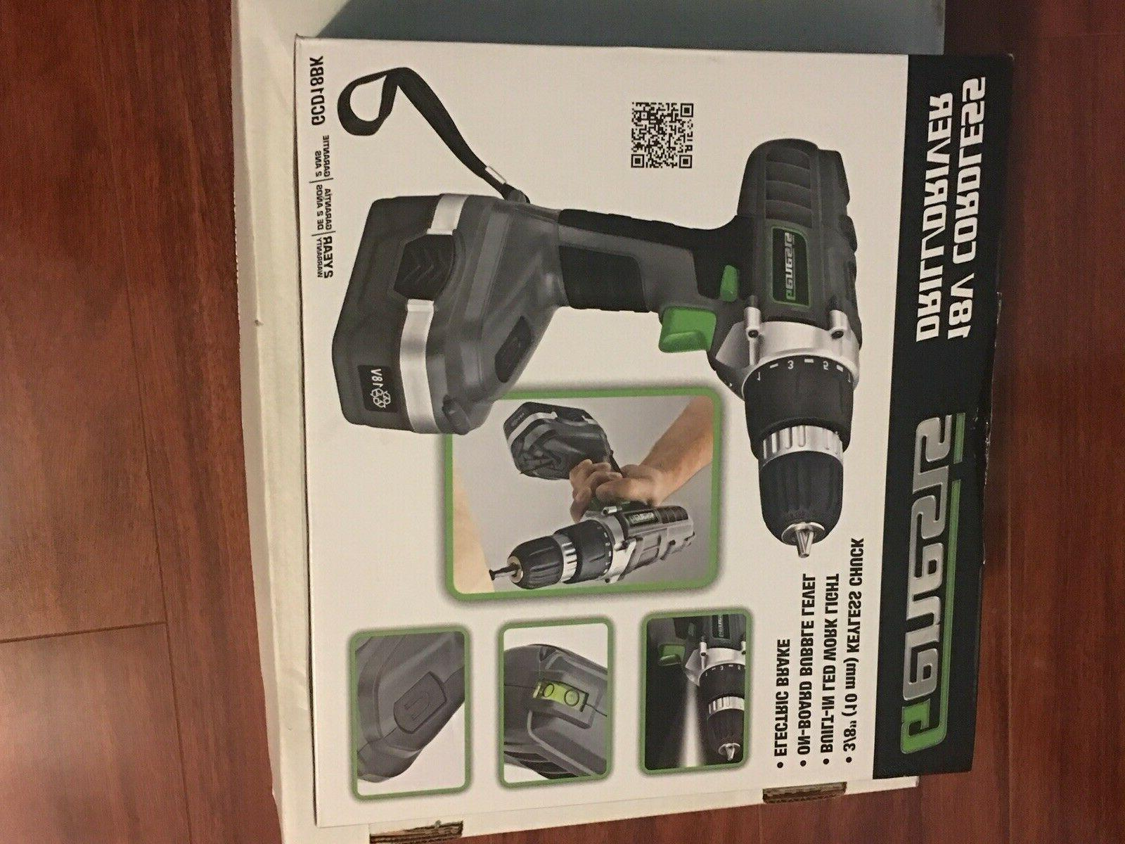 Drill Kit Cordless Electric Set Portable Power Hand Tool