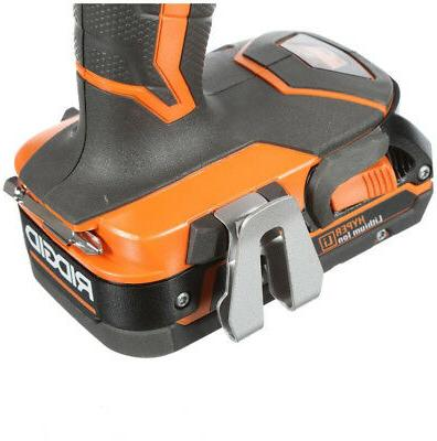 Drill/Driver18-Volt Lithium-Ion Cordless Driver 2 Batteries Charger Bag