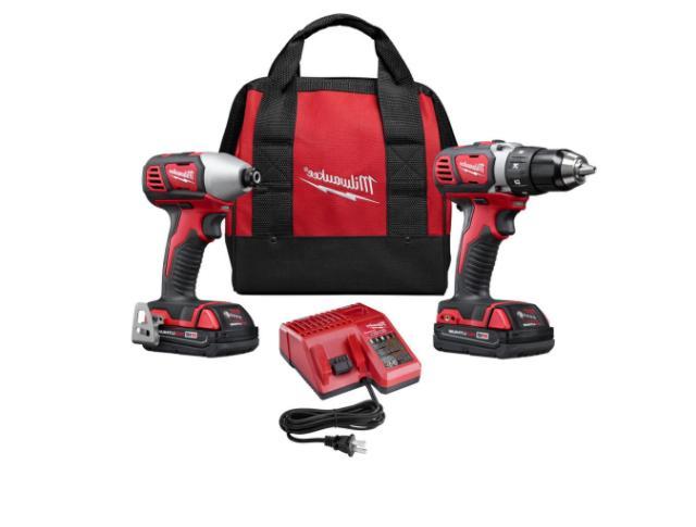 drill set kit cordless drill driver impact