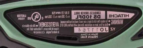 Hitachi 12 Volt