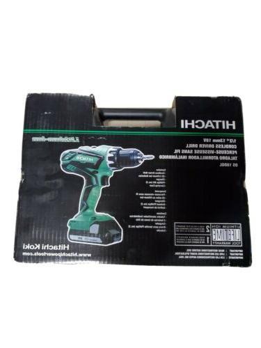 Hitachi DS18DGL 18-Volt Cordless Lithium-Ion 1/2 Inch Compac