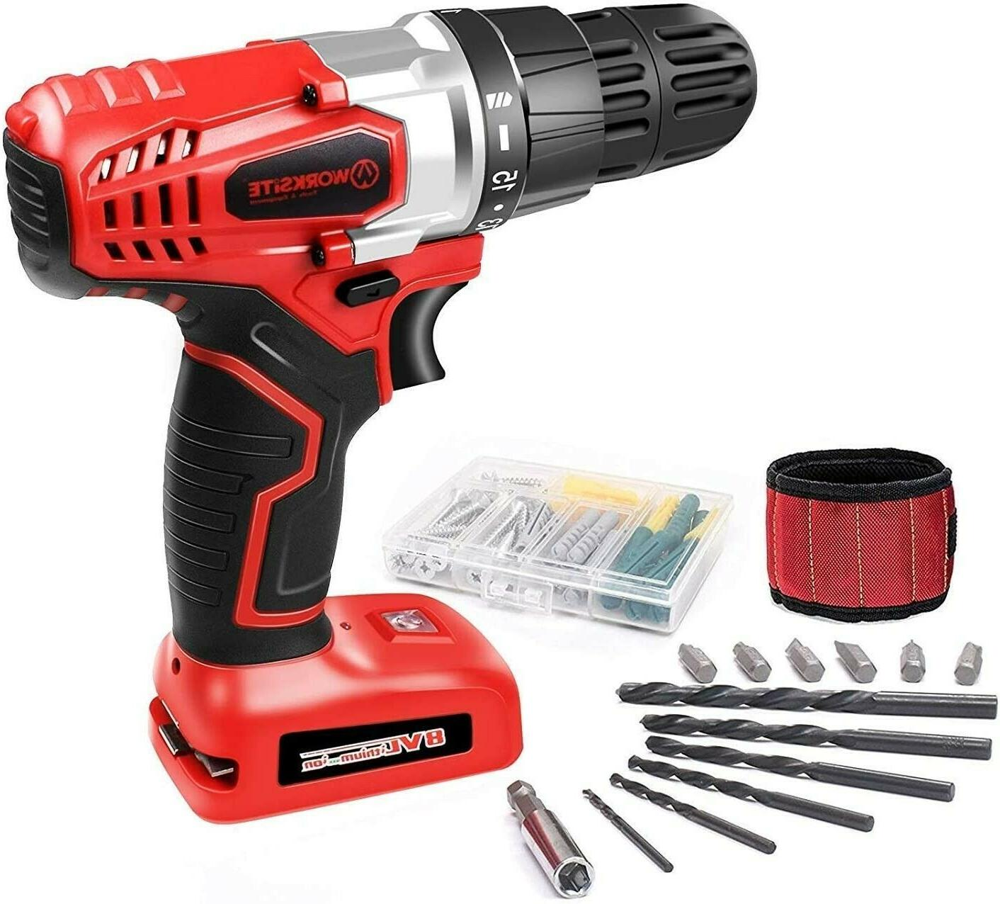 electric cordless drill screwdriver