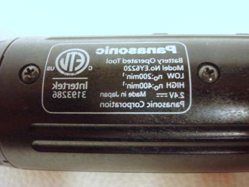 "Panasonic Genuine 1/4"" Hex Model EY6220 Japan"