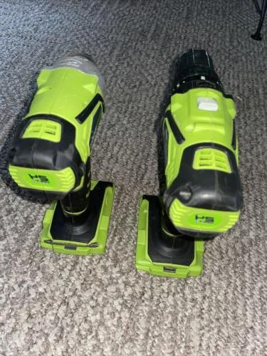 Green Works Impact And Drill Cordless
